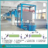 PU/PVC Synthetic/artificial Leather Dry Process Making Machine