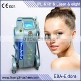 Pigment Removal E8A Professional Ipl/rf/laser/e No Pain Light Beauty Salon Equipment Acne Removal