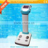 Human Body Composition Analyzer With Printer 9d 15d nls health analyzer
