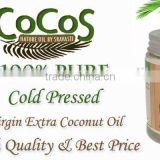 Pure Coconut Oil High Quality Organic FDA Registered, Made in Thailand,