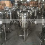 China good price stainless steel dimple jacket homebrew conical fermenter 100l
