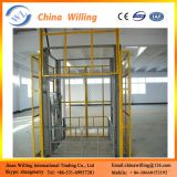 widely used hydraulic goods lift cargo lift guide rail lift cheap price for sale China best lift tables