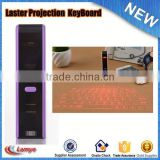 made in china Computer mobile phone bluetooth mini wireless laser projection keyboard for android