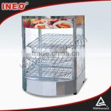 Small Display Food Warmer Cabinet Putting On Table Top