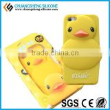 High Quality New Fashion Duck Shape Silicone Phone Cover