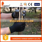 DDSAFETY China Supplier High Quality Nitrile Cabretta Leather Golf Gloves