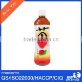 OEM 500ml PET Bottled Apple Flavored Tea in China