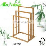 Multi-funtion and hot sale Bamboo towel and bathroom racks