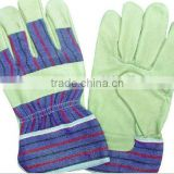 cow split leather electrical long welding workplace/cowhide leather glove /construction glove/safety glove/any coclor