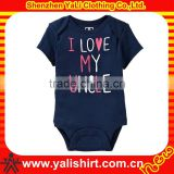 graphic design soft organic cotton bodysuits baby clothes