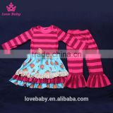 Hot Sale Teen Girl Clothing sets Children Spring Sweet Posh Outfits LBYTZ001-43