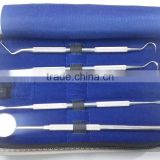 dental hygiene kit/ complete set for teeth cleaning/ best quality stainless steel dental scalar kit