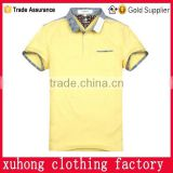 2015 Hot sale product brand printing logo polo tshirt factory uniforms