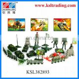 hot sale kids mini plastic toy military set for play