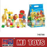 building blocks Zoo animal toys Support OEM plastic building blocks toys