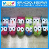 Wholesale Knitted Kids Doll, Baby OWL Knitted Toy