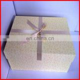 Luxury big gift box for wedding dress