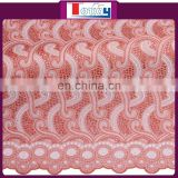 lady peach nigerian cotton dry-lace-fabric