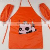 high quality kids apron with sleeves