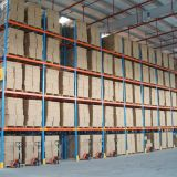 Used In Logistics  Diagonal Bracing Industrial Racks