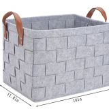 China factory products home Felt Storage Basket