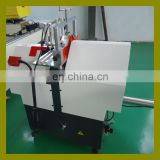 China precision Plastic PVC UPVC window fabrication machine for cutting glass glazing bead profile