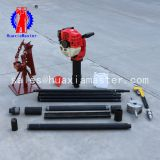 Supply QTZ-2 soil sampling core drill rig/impact exploration drill machine