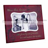 Diamond And Silver Decorative Funny Picture Frame