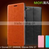 MOFi Hot Sale Customed PU Leather Flip Cell Phone Cover Case for Gionee S7, GN9006, Gionee Elife S7