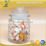 Glass Candle Jar With Rubber Stopper