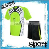 Short Sleeve Design customized soccer jersey set for soccer team