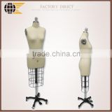 adjustable dress form torso mannequin LDF-08 with Collapsible Shoulders