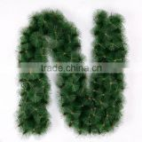 New 6 feet 9 feet 10 feet artificial pine needle christmas garland