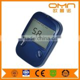 Blood Testing Equipments Type blood glucose meter with cholesterol
