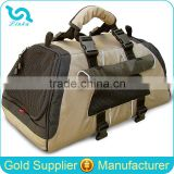 High Quality Beige Black Pet Carrier Bag with Handle Dog Pet Travel Bag Pet Bag                                                                         Quality Choice