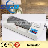 hot cold roll laminator 2 rollers pouch laminator