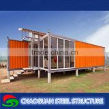 Economical fireproof transportable anti-earthquake prefab shipping container homes for sale