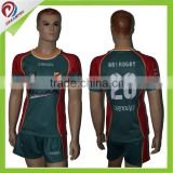 Dreamfox Sublimated rugby practice shirts custom rugby jersey                                                                         Quality Choice