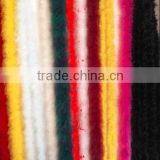 Dyed Real Turkey Fur Material For Coat Winter