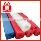 Display showcase for jewelry shop items swimming pool float tube soft epe foam tube jumpking trampoline