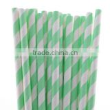 Creative Star Paper Drinking Straws Mix Colors for Wedding, Party, Festivals Set of 25 Free Shipping