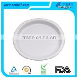 Disposable dinner plate Plastic plates Silver Coated Plastic silver plate For Party                                                                         Quality Choice