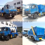 hydraulic arm garbage truck, Hydraulic swinging arm garbage truck ,Hydraulic lifter container garbage truck