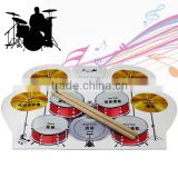 Portable Digital USB Desktop PC Electronic Roll Up Drum Kit