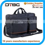 Large capacity pu leather and canvas messenger bag wholesale laptop messenger bag men                                                                         Quality Choice