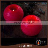 Ball shape LED flameless wax candle light                                                                                         Most Popular