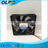 DC 80*80*15mm sleeve/ball bearing computer cooling fan