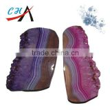Banded Agate Slices for wholesale