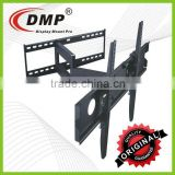 PLB146XL Articulating Single Swing Arm Curve LED TV Wall Brackets