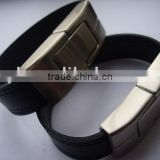 bracelet black leather usb 1GB